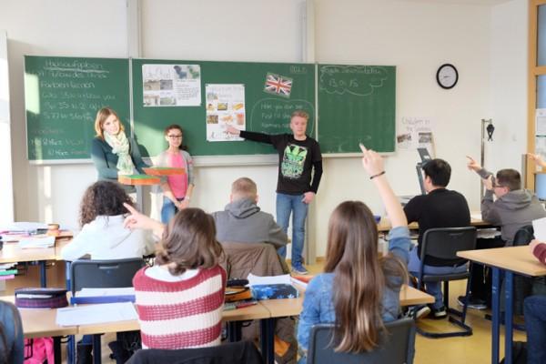 Erdkunde auf Englisch- Die 7a im Bili-Unterricht