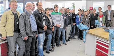 Neffbesuch Kollegium 2012
